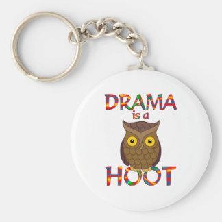 Drama ist ein Schrei Schlüsselanhänger