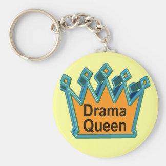 Drama-Königin-T - Shirts und Geschenke für sie Schlüsselanhänger