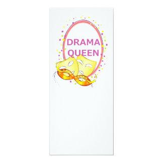 Drama-Königin-Theater-Masken