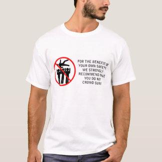 Drängen Sie nicht Brandung T-Shirt