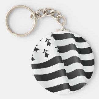 Drapeau Bretone (bretonische Flagge) Schlüsselanhänger