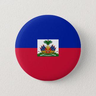 Drapeau d'Haïti - Flagge von Haiti Runder Button 5,7 Cm