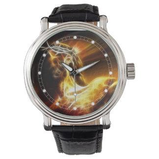 Drastische Jesus-Kreuzigungs-Uhr (mehrfache Uhr