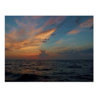 Drastischer Himmel Postkarte