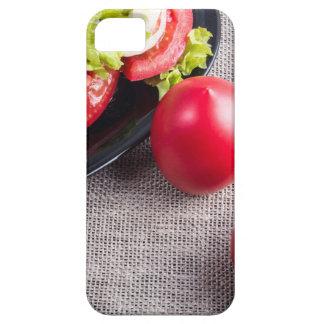Draufsicht der Nahaufnahme über frische Tomaten Hülle Fürs iPhone 5