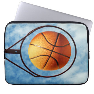 Draußen Basketball-heißester Schuss, Laptopschutzhülle