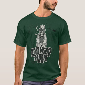 Drawing man geek Smoking T-Shirt