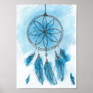 "Dreamcatcher ""blauer Himmel "" Poster"