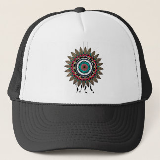Dreamcatcher Mandala Truckerkappe