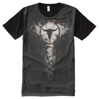 Dreamcatcher - Pentagram T-Shirt Mit Komplett Bedruckbarer Vorderseite