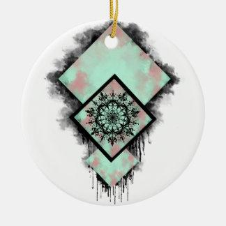 Dreamcatcher Rundes Keramik Ornament