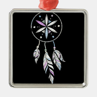 Dreamcatcher Silbernes Ornament