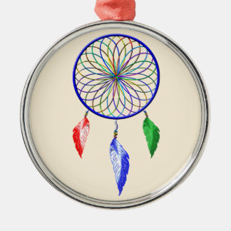 dreamCatcher Silbernes Ornament