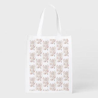 Dreamcatcher wiederverwendbare Tasche Einkaufstaschen