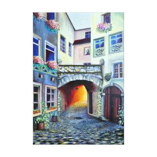 Dreamscape Luxemburg Böhmestadt Leinwanddruck