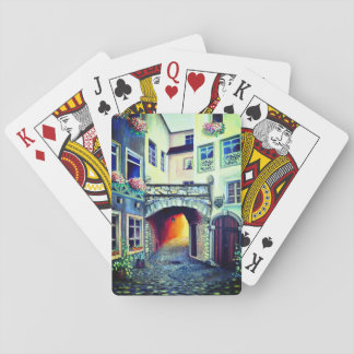 Dreamscape Luxemburg Böhmestadt Spielkarten