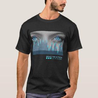 Drehbeschleunigung DJ holen das Aktion bta T-Shirt
