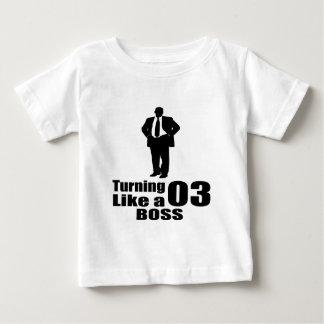 Drehen 03 wie ein Chef Baby T-shirt