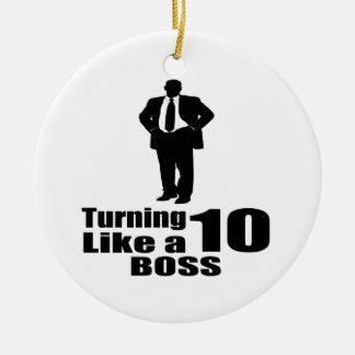 Drehen 10 wie ein Chef Keramik Ornament