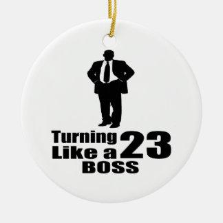 Drehen 23 wie ein Chef Keramik Ornament