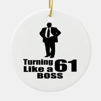 Drehen 61 wie ein Chef Keramik Ornament