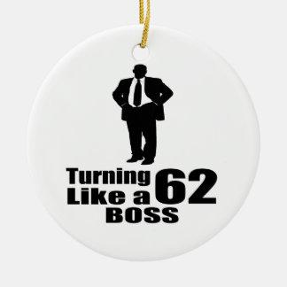 Drehen 62 wie ein Chef Keramik Ornament