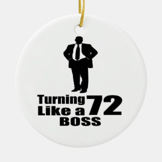 Drehen 72 wie ein Chef Keramik Ornament