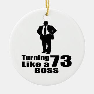 Drehen 73 wie ein Chef Keramik Ornament