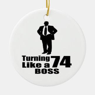 Drehen 74 wie ein Chef Keramik Ornament
