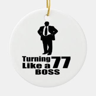 Drehen 77 wie ein Chef Keramik Ornament
