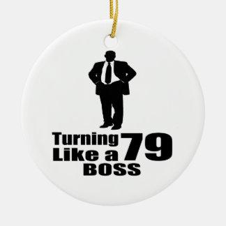Drehen 79 wie ein Chef Keramik Ornament