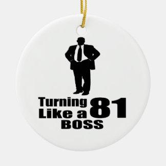 Drehen 81 wie ein Chef Keramik Ornament