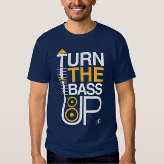 DREHEN Sie den BASS OBEN - Crossfader u. T-Shirt
