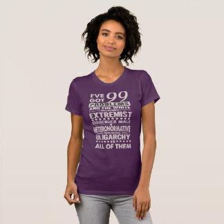 Drehen Sie Köpfe diesbezüglich T-Shirt