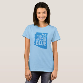 Drehen Sie Progressisten blauer Frauen Arizonas T-Shirt