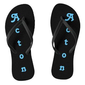 Drehen Sie Reinfälle Acton um Flip Flops