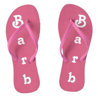 Drehen Sie Reinfälle Barb um Flip Flops