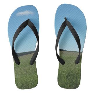 Drehen Sie Reinfälle um Flip Flops