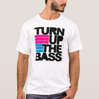 Drehen Sie sich herauf den Baß T-Shirt