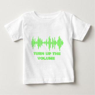 Drehen Sie sich herauf den Volumenentwurf Baby T-shirt