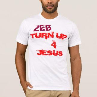 Drehen Sie sich oben für Jesus T-Shirt