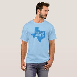 Drehen Sie Texas, das blauer T - Shirt   Amerika