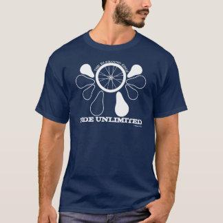 Drehen Sie Wappen, die UNBEGRENZTE FAHRT, ein T-Shirt