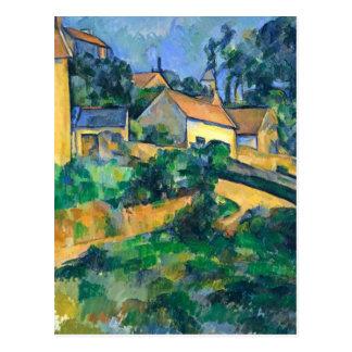 Drehenstraße bei Montgeroult durch Paul Cezanne Postkarte