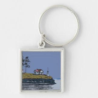 DREHUNGS-PUNKT - Stuart-Insel Schlüsselanhänger