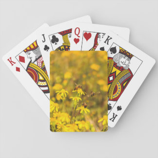 Drei Bienen ist nicht eine Menge Spielkarten