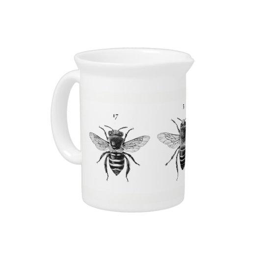 Drei Bienen-Krug Getränke Pitcher