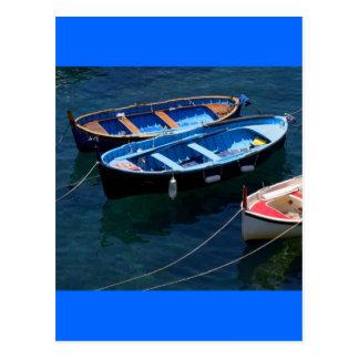 Drei Boote Postkarte