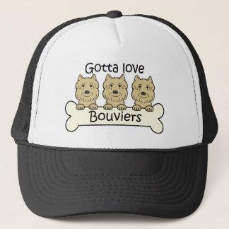 Drei Bouviers Truckerkappe