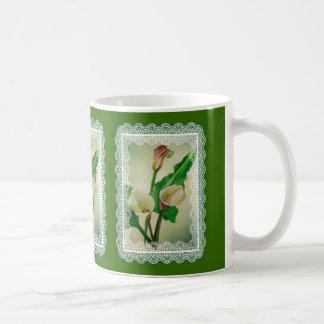 Drei Calla-Lilien Kaffeetasse
